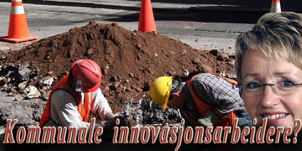 Navarsete (SP) og kommunal innovasjon