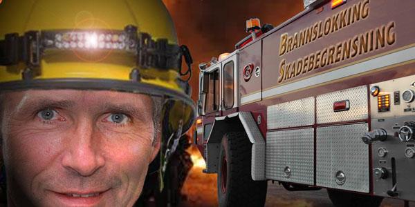 server rom brannslokking